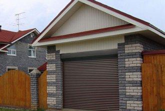 Рулонные ворота для гаража — выбор влюбленных в надежность
