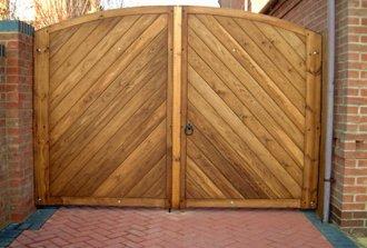 Деревянные ворота своими руками. Как сделать все правильно?