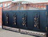 Ворота своими руками: разнообразие моделей