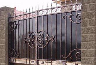 Металлические ворота своими руками — что может быть проще!