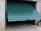Как своими руками сделать подъемные гаражные ворота?