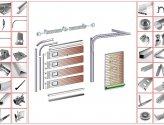 Выбор комплектующих для секционных гаражных ворот