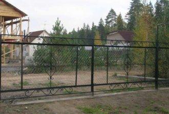 Сварные ворота для дачи: отличная альтернатива ковке!