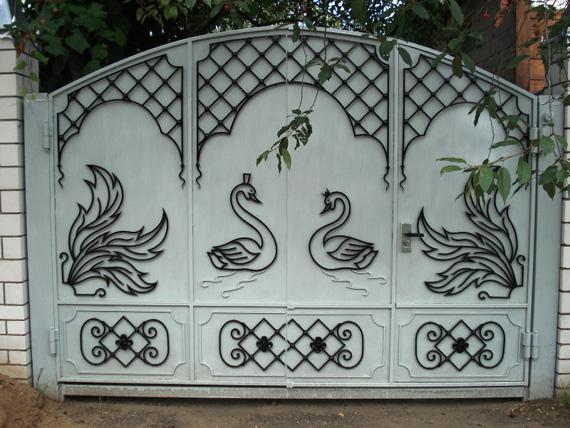 Простые рисунки для ворот Главная 85