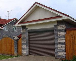 Рулонные ворота в гараж