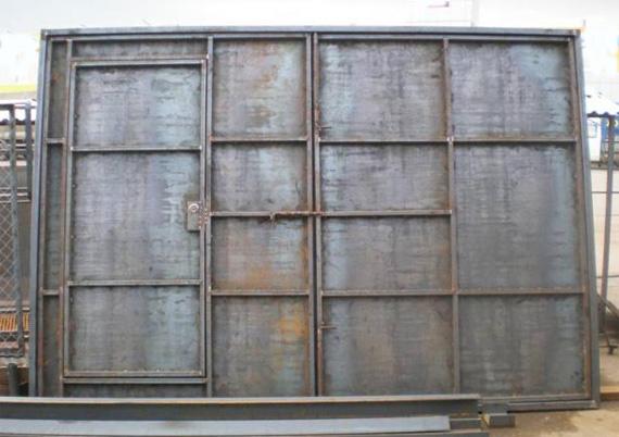 Проект гаража на 1 машину из пеноблоков