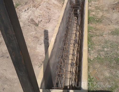 Армирование бетонного фундамента