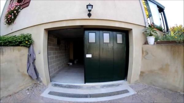 Секционные откатные ворота