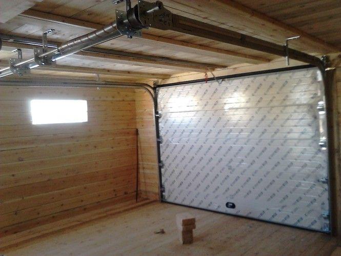 Проект гаража из профильной трубы