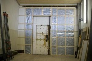 Утепление ворот гаража