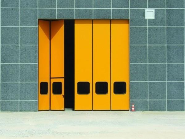 """Складные ворота """"гармошка"""""""