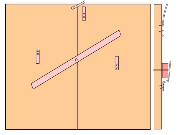 Как сделать запоры для гаражных ворот своими руками 91