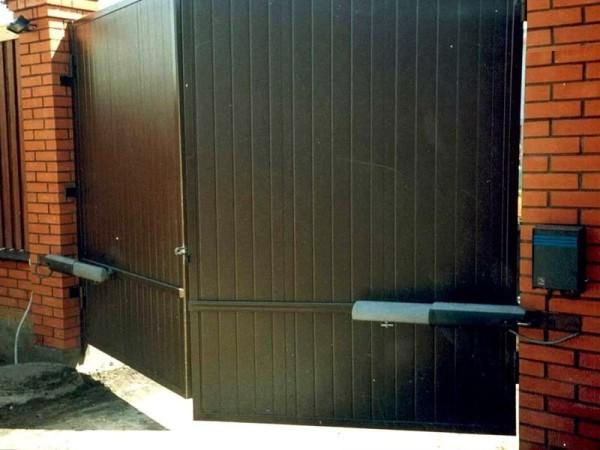 Как правильно установить автоматику привода ворот