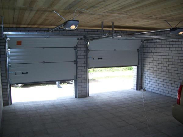 Удобные и практичные секционные ворота
