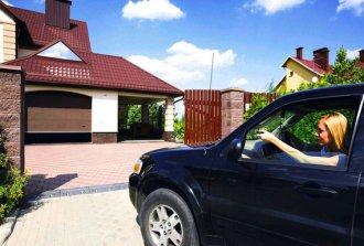 Секционные гаражные ворота. Как соорудить самостоятельно?