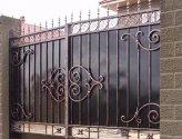 Металлические ворота своими руками – что может быть проще!