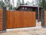 Как соорудить деревянные ворота для дачи самостоятельно?