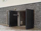 Как установить автоматические гаражные распашные ворота
