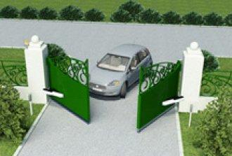 Автоматические распашные ворота своими руками: установка и правила эксплуатации