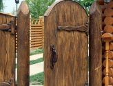 Как сделать деревянную калитку на даче