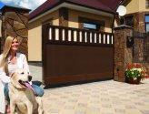 Монтаж откатных ворот для дома своими руками