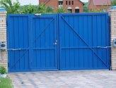Изготовление распашных ворот своими руками: поэтапная работа