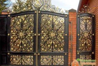 Покраска кованых ворот: пошаговая инструкция