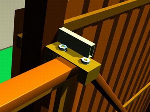 Установка швеллера для ворот