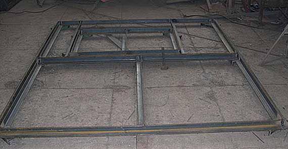 Металлическая рама для ворот