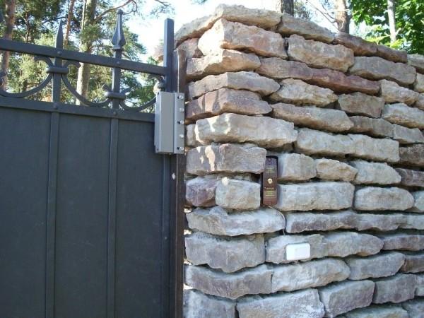 Электромагнитный замок на ворота