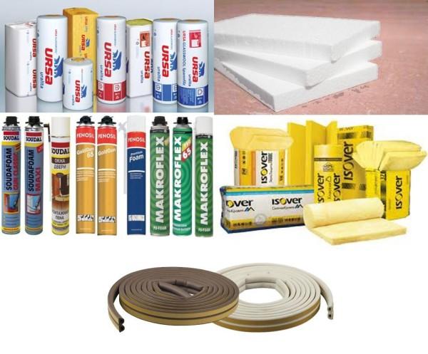 Разновидности уплотнительных материалов